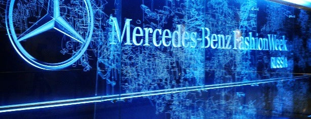 Mercedes-Benz Fashion Week Russia is one of Lieux qui ont plu à Mirinha★.
