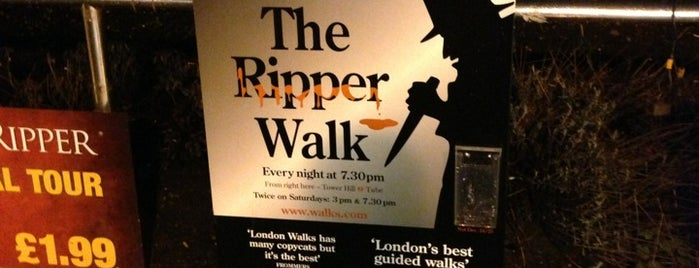 Jack The Ripper Tour is one of My London tips!.
