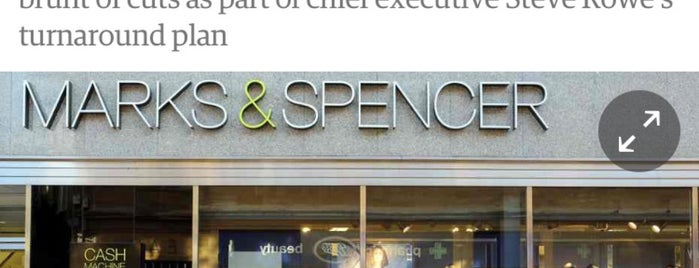 Marks & Spencer is one of Posti che sono piaciuti a Andrea.