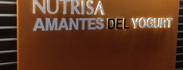 Nutrisa · Amantes del Yogurt is one of Tempat yang Disukai Mariana.