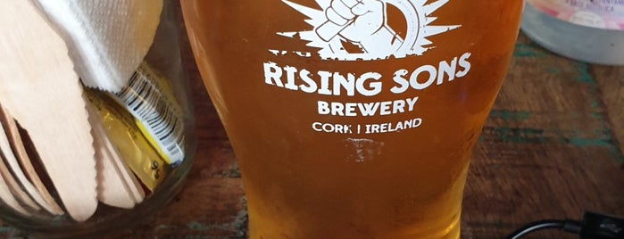 Rising Sons Brewery is one of Ireland.