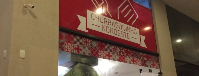 Churrasquinho do Noroeste is one of Tempat yang Disukai Fabiana.