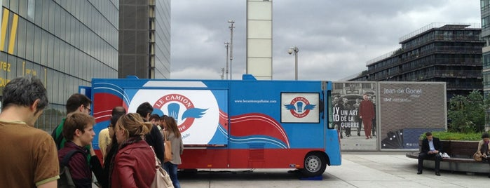 Le Camion qui Fume – BNF is one of Resturants Burger.