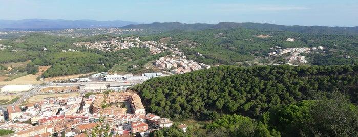 Castell de Sant Joan is one of Lloret De Mar, Girona (August 2016).