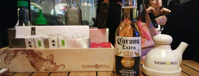 Sushi Roll is one of Mexico City Restaurants.