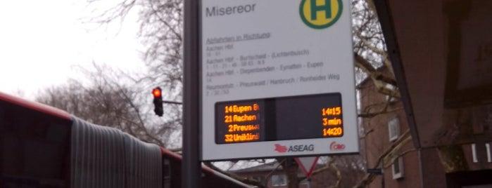 H Misereor is one of Aachen ÖPNV.
