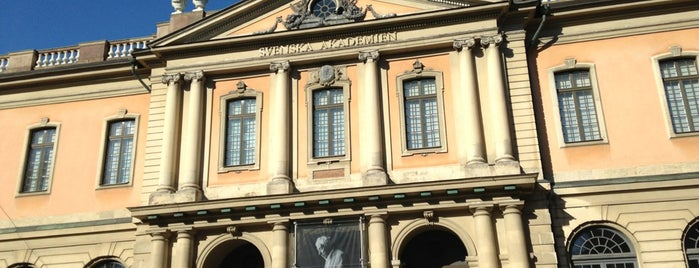 Nobel Museum is one of 4sq SUs Sweden 님이 좋아한 장소.