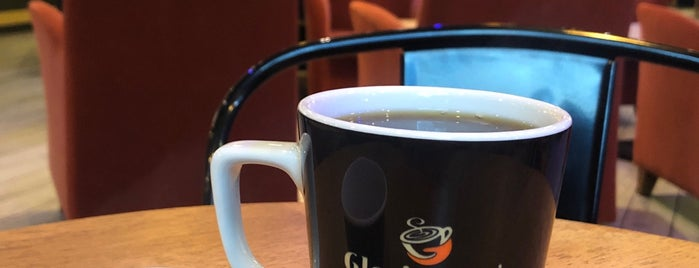 Gloria Jean's Coffees is one of Orte, die Burç gefallen.