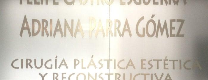 Felipe Castro Esguerra & Adriana Parra Gómez - Cirugía Plástica Estética y Reconstructiva is one of Tempat yang Disimpan Thaly.