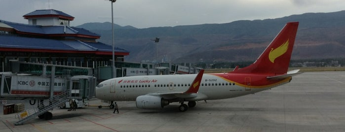 Lijiang Sanyi International Airport (LJG) is one of Airports.