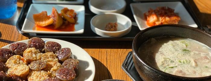 오복돼지국밥 is one of KOREA.