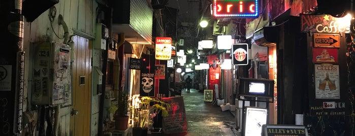 Shinjuku Golden-gai is one of JJ: Kyoto x Tokyo.