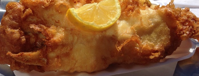 Flounders is one of Fish & Chips???.