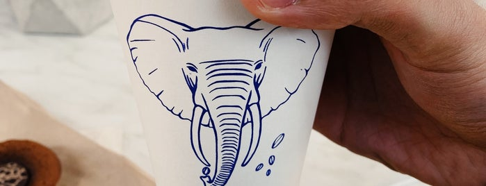 The Elephant Coffee is one of Best Santiago Coffee Shops.