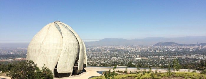 Templo Bahá'í de Sudamérica is one of Santiago.