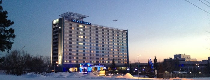 River Park Hotel Novosibirsk is one of Vladimir 님이 좋아한 장소.