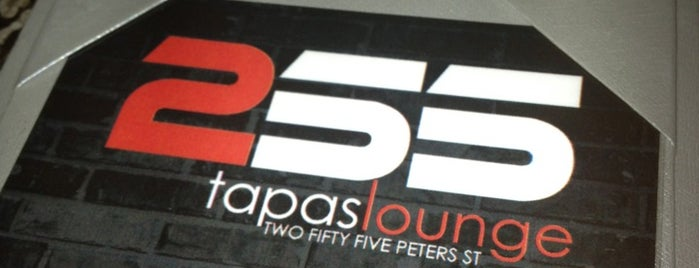 255 Tapas Lounge is one of Foodie goodness.