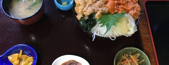 漁師直営食堂 中村屋 is one of キヨ 님이 좋아한 장소.