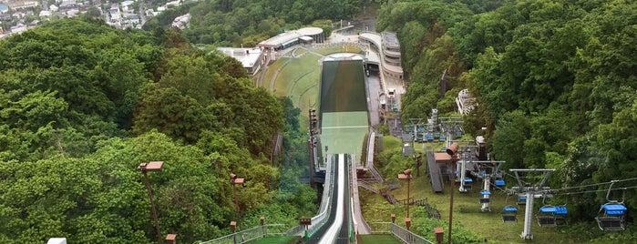 Okurayama Ski Jump Stadium is one of キヨ 님이 좋아한 장소.