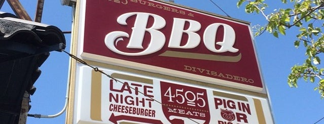 4505 Burgers & BBQ is one of [ San Francisco ].