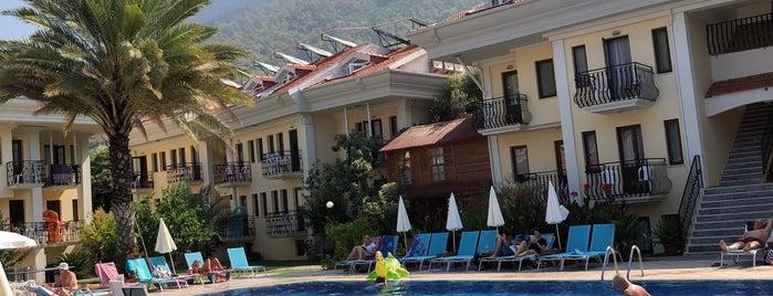 Hotel Blue Star is one of Fethiye.