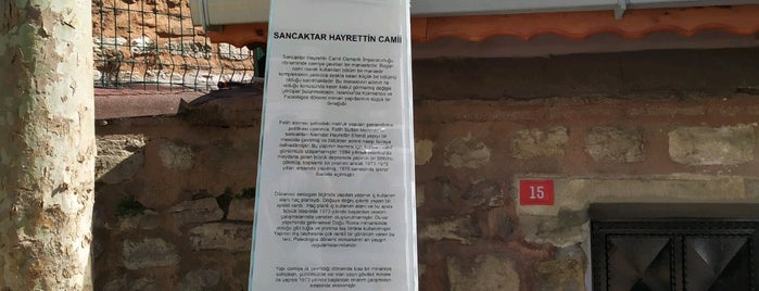 Sancaktar Hayrettin Camii is one of Istanbul.