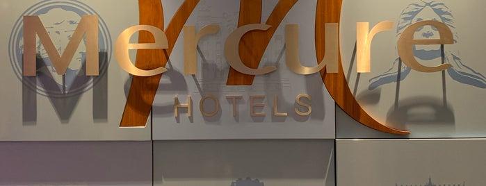 Mercure Riga Centre Hotel is one of Valeriaさんのお気に入りスポット.