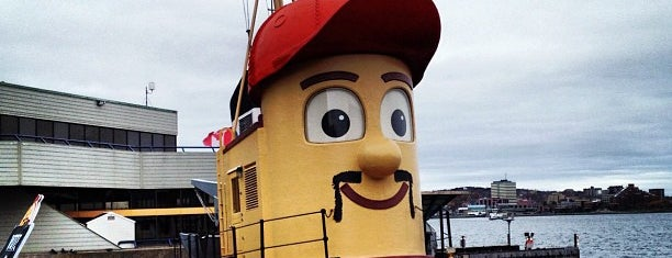 Theodore Tugboat is one of Halifax To-Do.