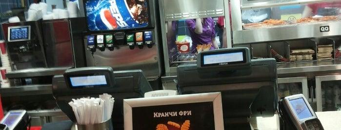 KFC is one of Wireless Pay SPb.
