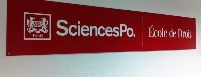 Sciences Po is one of Paris.