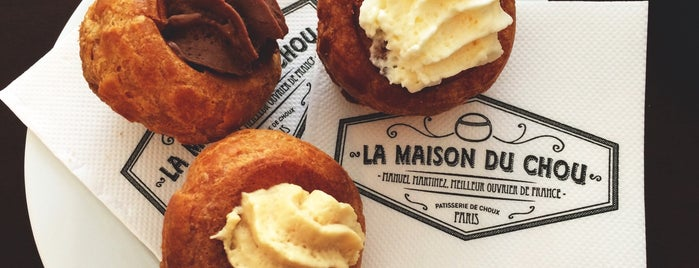 La Maison du Chou is one of Paris // Tea, Cake, Coffee & More.