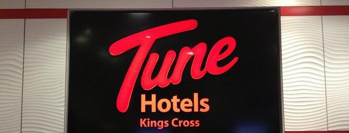 Tune Hotel King's Cross is one of London Pleasures.