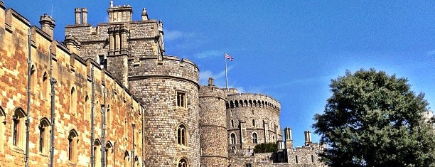 Windsor Castle is one of Britain.