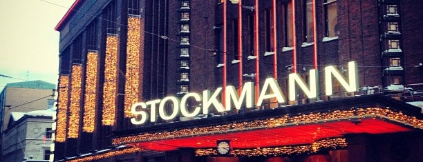 Stockmann is one of Хельсинки.