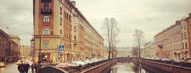 Демидов мост is one of Санкт-Петербург.