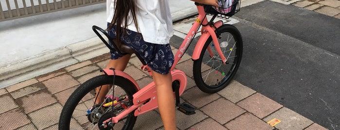 竹内自転車店 is one of 神輿で訪れた場所-1.
