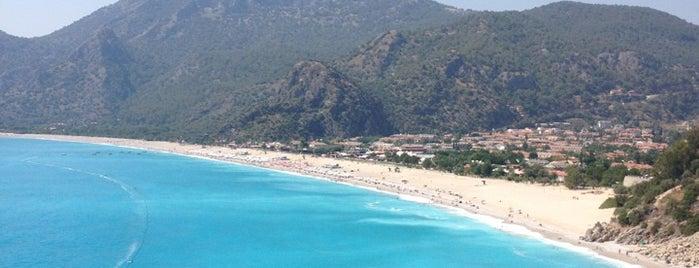 Ölüdeniz is one of South-West of Turkey.