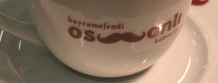 Bayramefendi Osmanlı Kahvecisi is one of 🇹🇷 : понравившиеся места.
