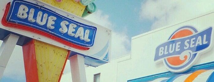 BLUE SEAL BigDip 牧港店 is one of สถานที่ที่ @ ถูกใจ.