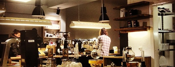 The Barn - Roastery is one of Caffeinating.