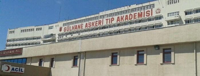Gülhane Eğitim ve Araştırma Hastanesi is one of themaraton.