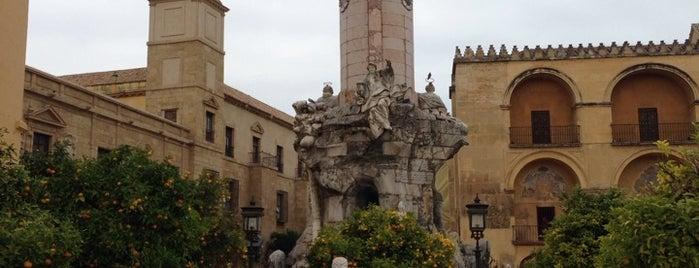 Plaza del Triunfo is one of Que visitar en Cordoba.