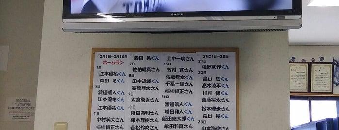 アサヒバッティングセンター is one of Lugares favoritos de Hideo.