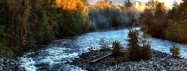 Capilano River is one of Jus'un Beğendiği Mekanlar.