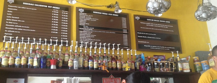 Cafe Nuevo Mundo is one of Oaxaca.