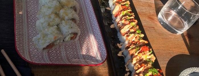 Hanabi Seaside Sushi is one of Greece.