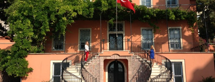 Uşakizade Köşkü is one of izmir.