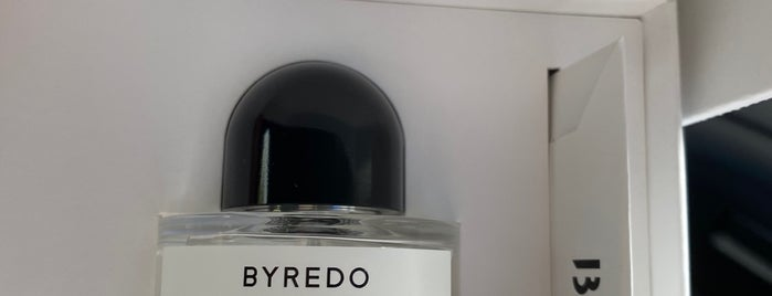 Byredo is one of NY stores.