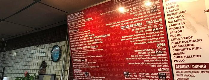 El Taco De Mexico is one of Posti che sono piaciuti a Clara.