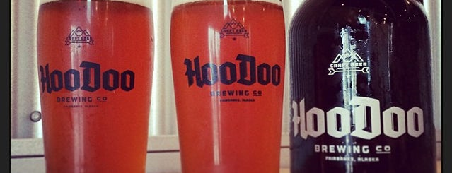 HooDoo Brewing Co. is one of Alaska.